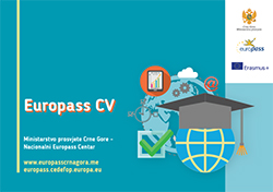 Guide through Europass CV 1